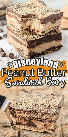 Brownie Recipes, Candy Recipes, Sweet Recipes, Baking Recipes, Cookie Recipes, Dessert Recipes, Peanut Butter Sandwich, Peanut Butter Desserts, Chocolate Desserts