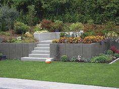 Stone Retaining Wall / Modular / For Garden Enclosures Rinn Beton  Und  Naturstein Stadtroda
