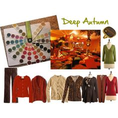 Deep Autumn by jeaninebyers on Polyvore featuring J.Crew, Alexander McQueen, Boden, POL, Emily and Fin, IRO, Ryu, Reality Studio, Gara Danielle and deep autumn