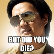 """When people say I post about Younique too much.but did you die?"" funny meme from The Hangover. Dental Humor, Nurse Humor, Mommy Humor, Medical Humor, Dental Hygienist, Mr Chow, Le Vent Se Leve, But Did You Die, Funny Memes"
