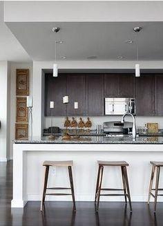 arquiteturadoimóvel: Cozinhas integradas à sala...para atender o pedido da Betina!