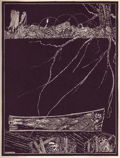 Illustrations by Harry Clarke for Edgar Allen Poe's Tales of Mystery and Imagination.