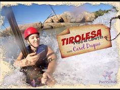 #TIROLESA -PRAIA DE CALHETAS COM CAROL DUQUE