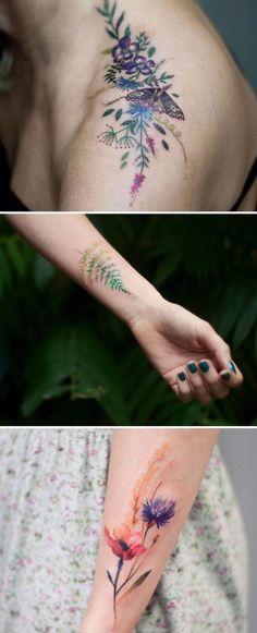 La primavera ya está aquí y para celebrarlo, artistas del tatuaje de todo el mundo han compartido sus creaciones florales. Comprobarás que aunque todos los motivos son el mismo, cada artista tiene su propio estilo único
