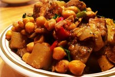 Jamaican Curried Tofu With Chickpeas [Vegan, GF]   One Green Planet