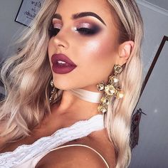 When in doubt throw on some MAC Reflect inspired by @shaaanxo Lips are @ofracosmetics 'Mocha' + 'Hypno' // get 30% off OFRA Cosmetics by using the code 'BYBROOKELLE' Wearing @sistersthelabel Slip + Choker ✨ #OFRACosmetics #SistersTheLabel