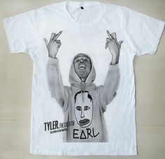 OFWGKTA Odd Future Tyler The Creator Tyler Gregory Okonma Sam Show Mid  Finger Unisex T-Shirt.  14 42d995b58