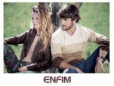 Juliana Didone e Kayky Brito na Campanha Outono/Inverno 2014 da Enfim ♥ #universoenfim #destinoenfim