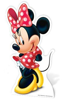 Mickey Mouse and Minnie Mouse Lifesize Cardboard Cutout / Standee Set (Disney) Mickey Minnie Mouse, Mickey Mouse E Amigos, Minnie Mouse Stickers, Mickey Mouse And Friends, Disney Mickey, Disney Art, Disney Pixar, Mimi Disney, Minnie Mouse Drawing