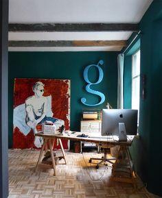 Our studio Atelier@omashuisje.nl
