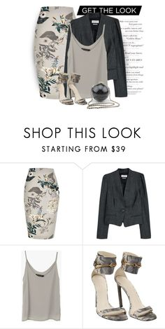 """""""Printed Skirts - 2"""" by erina-i ❤ liked on Polyvore featuring River Island, Étoile Isabel Marant and Gucci"""