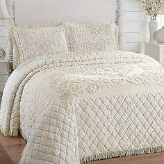 abigail adams woven matelasse bedspread bedding | abigail adams