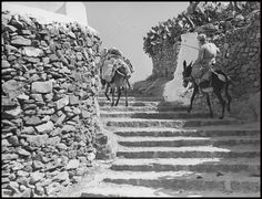 Old Time Photos, Old Pictures, Mykonos Greece, Athens Greece, Greek Islands, Mount Rushmore, Egypt, Black And White, History