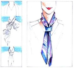 Slip Knot 1 Style  shawl