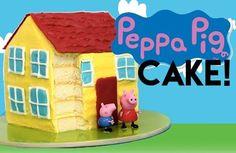 Hoje o tema é Peppa Pig! Vamos ver como fazer um Bolo Casa da Peppa. Pode parecer complicado, mas com os materiais corretos e inspiração você conseguirá recriar este lindo bolo feito por My Cake Ad…