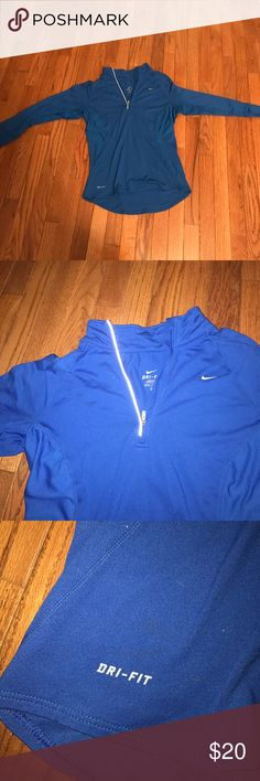 Nike dri-fit pullover Blue Nike pullover Nike Other