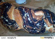 Motaný makový / ořechový závin recept - TopRecepty.cz Food And Drink, Bread, Brot, Baking, Breads, Buns