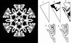 Fundamenta – Otthonok és megoldások Hópehely papírból - 7 ingyenes hópehely sablon - Fundamenta - Otthonok és megoldások