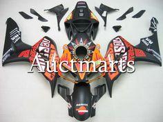 Fit for Honda CBR1000RR 2006 2007 CBR1000 RR ABS Plastic motorcycle Fairing Kit Bodywork CBR 1000RR 06 07 CBR 1000 RR EMS16 #Affiliate