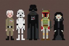 Pop Culture Cross Stitched | Creative | Awesomenator - Super Hero of the Internets
