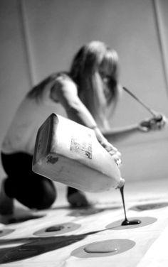 ✔ Play Messy Twister ~ Hen Night Bucket List. #hen_do_game #hen_do_idea