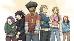 """Hulu's """"Marvel's Runaways"""" Reveals Main Cast of Young Superheroes"""