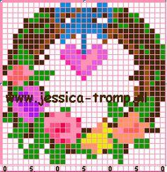 small designs borduurpatronen (79).png (254×263)