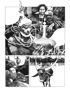 Sharaz-де: Сказки Тысячи и одной ночи. Archaia развлечения, ООО . Автор и иллюстратор Серхио Toppi.