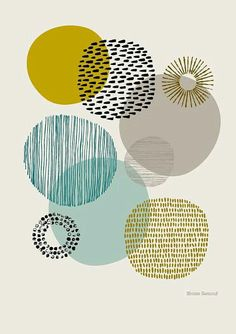 Sort Of Circles Open Edition Giclee Print Etsy - Sort Of Circles Is A Print Based On My Textural Drawings Of Circular Shapes The Emphasis Is Very Much On Colour And Pattern And Their Relationships To Each Other Colours Used In This Print Include Poster Pictures, Wall Pictures, Grafik Design, Gravure, Art Plastique, Picture Wall, Photo Wall, Printmaking, Canvas Wall Art