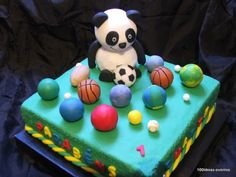 bolo panda 3d - Pesquisa Google