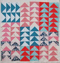 Mini Quilt of the Month, July: Flying Geese | The Purl Bee