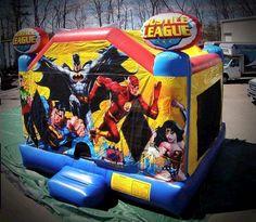 Bounce Justice League Rental info@taylorrentalpartyplusct.com