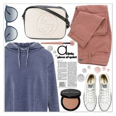 """""""style"""" by lena-volodivchyk ❤ liked on Polyvore featuring Miss Selfridge, Converse, Gucci, Puma, Bobbi Brown Cosmetics, Topshop and Ray-Ban"""