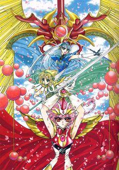 光 Hikaru、海 Umi、風 Fuu:魔法騎士レイアース Magic Knight Rayearth - CLAMP