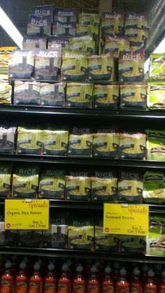 A Mountain of Buy One Get One Free Rice Ramen at Pembroke Pines Whole Foods Market in Florida! Free Rice, Pembroke Pines, Whole Foods Market, Buy One Get One, Ramen, Whole Food Recipes, Mountain, Florida, Snacks