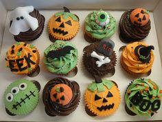 great Halloween cupcake ideas