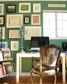 2013 Pantone Color of the Year, Emerald Green: Interiors