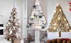 Het grootste voordeel van houten kerstbomen? Geen naalden. Handig als je een hekel hebt aan stofzuigen, maar ook ideaal met kinderen & huisdieren.