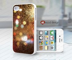 Hard case Rubber case iphone 4 case iphone 4s case New Iphone 5 case Rain drop of water design on Etsy, $6.99