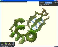 Foldit is an online puzzle video game about protein folding. The game is part of an experimental research project, and is developed by the University of Washington's Center for Game Science in collaboration with the UW Department of Biochemistry. The objective of the game is to fold the structure of selected proteins to the best of the player's ability, using various tools provided within the game.
