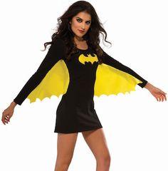 Batman Costume Dress With Wings