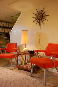 images of vintage kitsch interiors | Mid-century/mod interior design. | VINTAGE: Kitsch is Cool #1 | Pinte ...