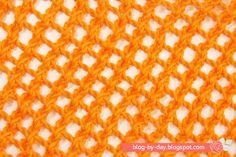 Blog-By-Day: Pontos Video Blog, Lana, Chevron, Sewing, Knitting, Stitch, Handmade, Maxi Cardigan, Centre