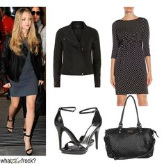 Celebrity Look for Less: Amanda Seyfried Style  I've got 3 of the 4 pieces. Yaaaay
