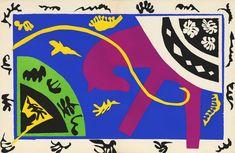 Henri Matisse, découpages et collages