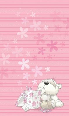 Just For You Tatty Teddy Wallpaper.