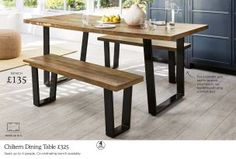 Buy Chiltern 6 Seater Dining Table from the Next UK online shop Kitchen Dining, Dining Table, Home Furniture, Kitchen Furniture, Dining Room Furniture, Dining, Room, 6 Seater Dining Table, Furniture