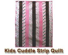 Kids Cuddle Strip #freepatterns #shannonfabrics