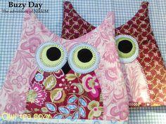 Owl Tea Cozy - Pattern + Instructions for cute owl tea cozy.