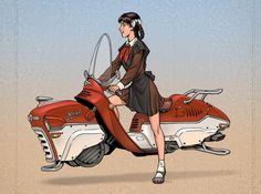 Click-thru for a showcase of Dieselpunk artwork, though for some reason, this was one of my favorites.